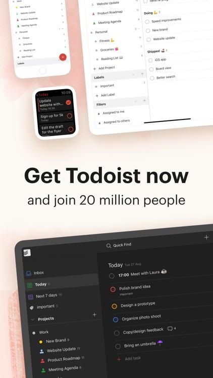Todoist: To-Do List & Tasks screenshot-6