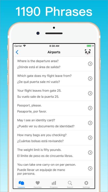 Learn Spanish + © screenshot-3