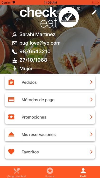 Check-Eat   #CómeteLaFila screenshot-5