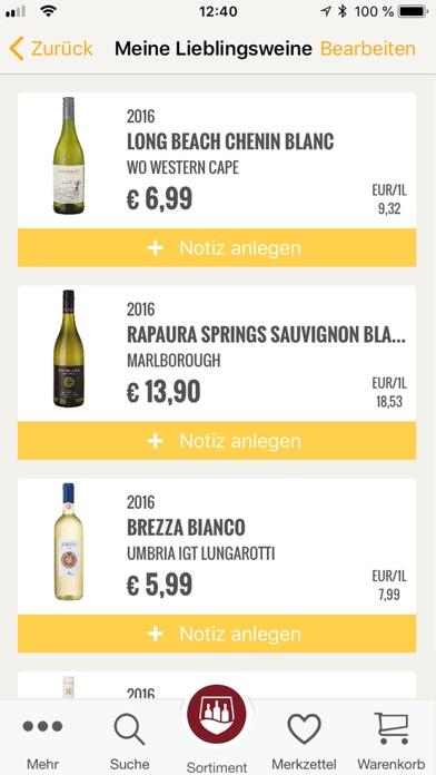 Screenshot for Hawesko - Wein mobil kaufen in Switzerland App Store