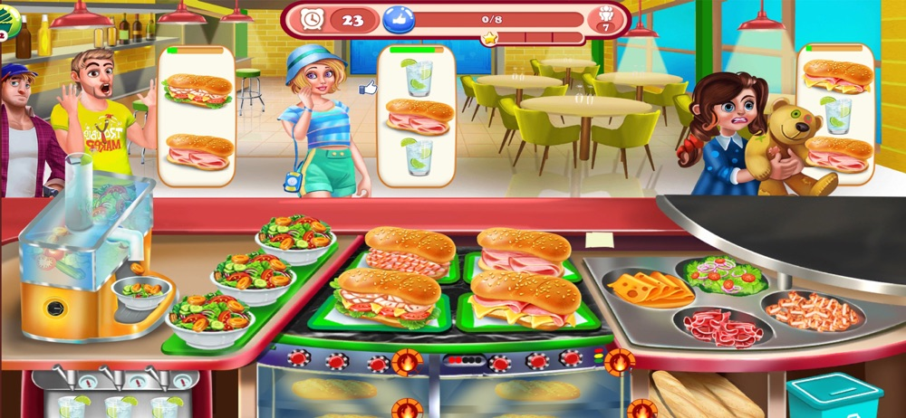 Cooking Town: Chef Food Games hack tool