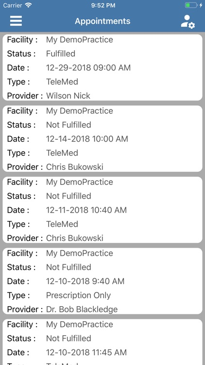 My Health Wallet. screenshot-3