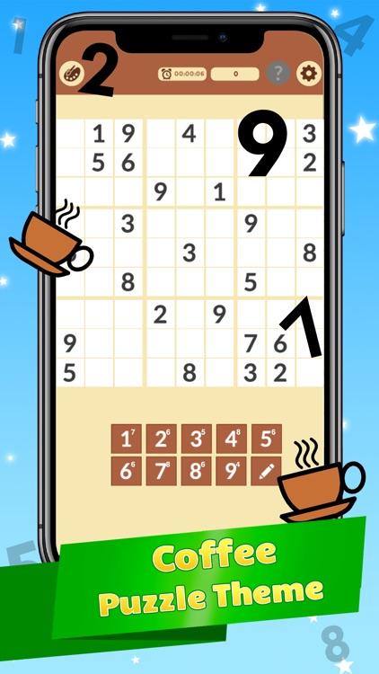 Sudoku Number Puzzle Sodoku screenshot-4