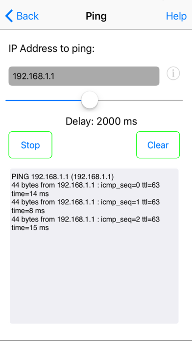 Network Ping Lite ScreenShot1