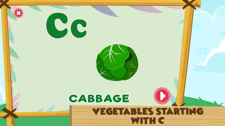Learning Alphabet C Words Game screenshot-3
