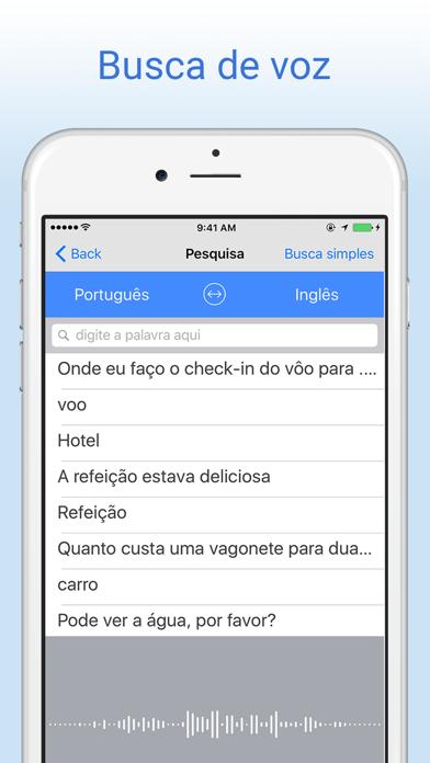 Dicionário Português Inglês screenshot two