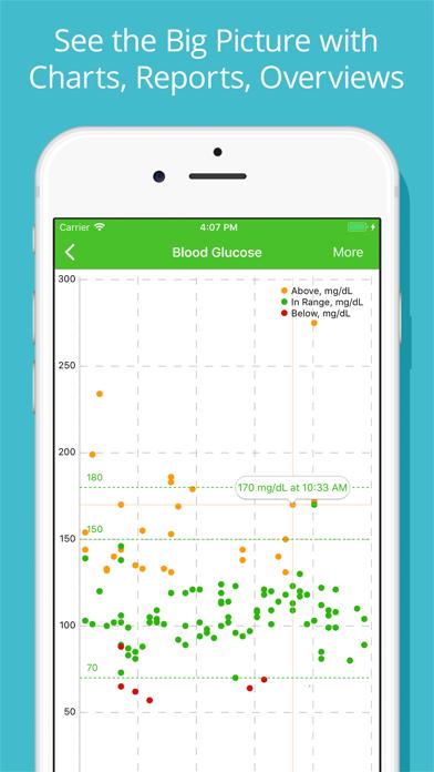 Diabetes Tracker by MyNetDiary Screenshot