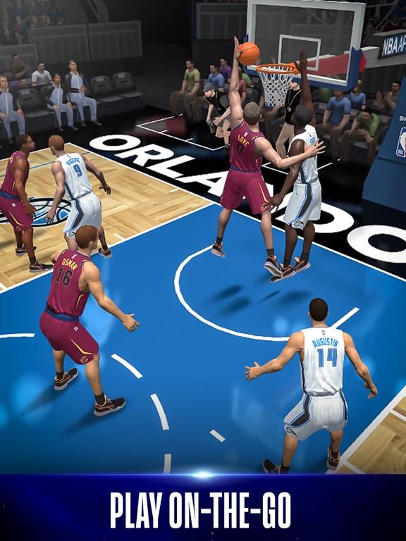 NBA NOW Mobile Basketball Game screenshot 7