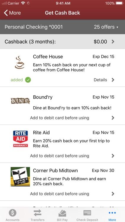 Clinton Bank Mobile screenshot-6