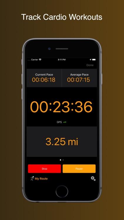 Gym Horn: Workout Tracker Log