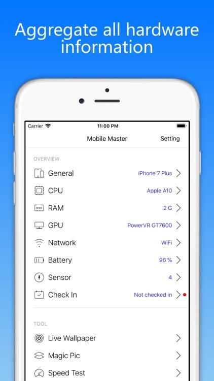 Mobile Master-CPU Master