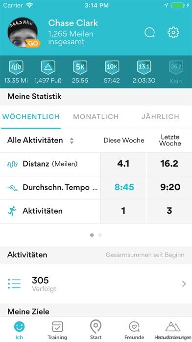 Runkeeper Deutsch