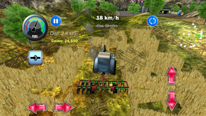 Screenshot from Tractor Farm Driver 3D Farming