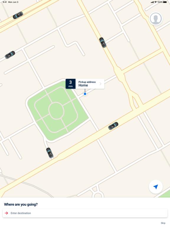 mytaxi - The Taxi App screenshot