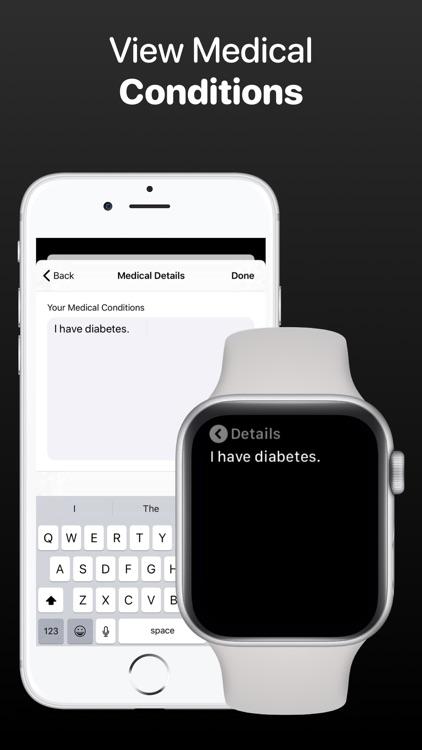 MediWear: Medical ID for Watch screenshot-3