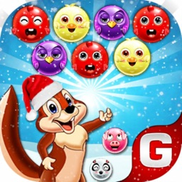 Bubble Shooter Squirrel Game