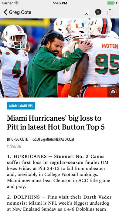 News for Dolphins Football screenshot four