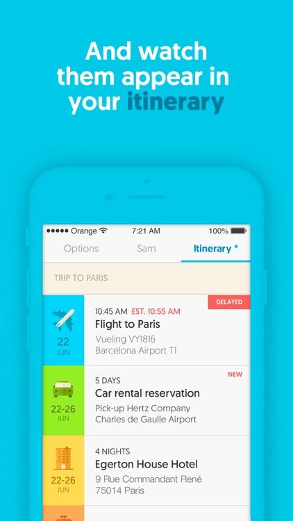 Sam - Trip Planner & Assistant screenshot-4