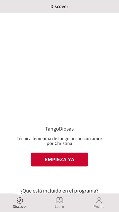 TangoDiosas screenshot 2