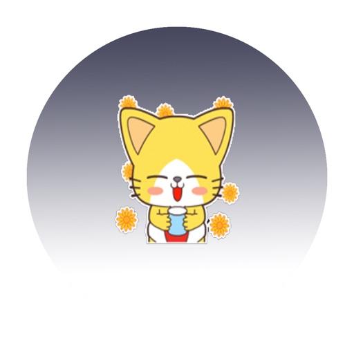 俏皮小黄猫