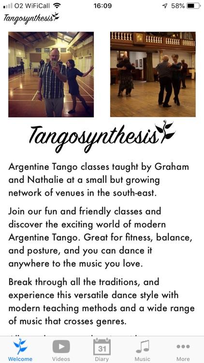 Tangosynthesis