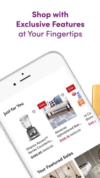 Wayfair – Shop All Things Home screenshot-0
