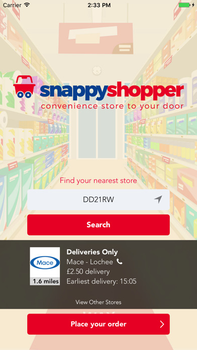 Snappy Shopper screenshot one