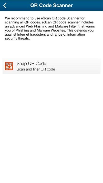 eScan Mobile Security screenshot-4