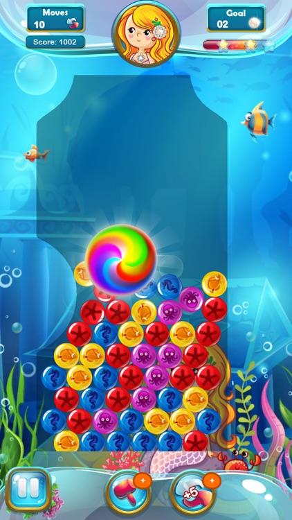 Mermaid Pearl - Match 3 screenshot-5