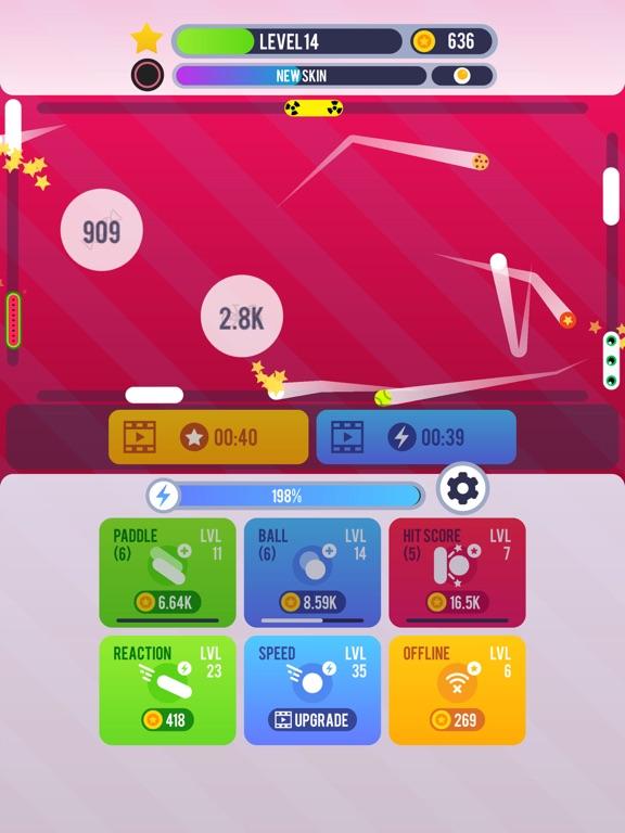 Pong Idle screenshot 5