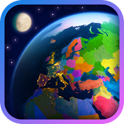 Ícone do app Earth 3D - World Atlas