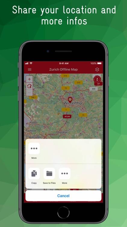 Zurich Offline Map screenshot-9