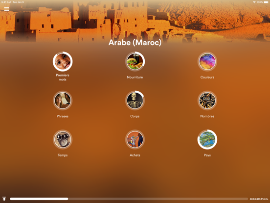 Apprendre l'arabe (marocain)