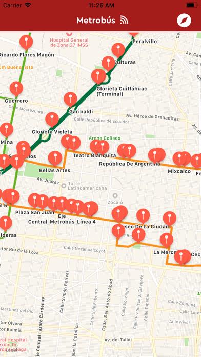 Metrobus CDMXCaptura de pantalla de2