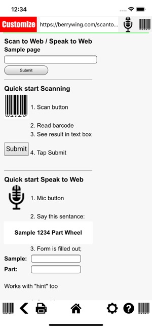 Barcode Scan to Web on the App Store
