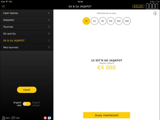 bwin: Jouer au Poker en Ligne iPad