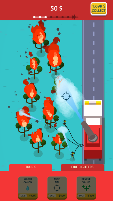 Idle Firetruck screenshot 3