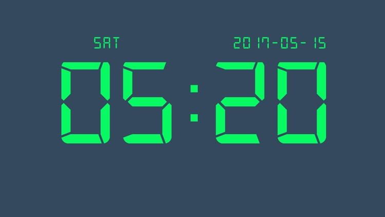 Digital Clock - Big LED Alarm