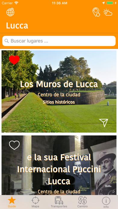 Guía y Mapa de LuccaCaptura de pantalla de1