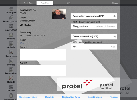 protel for iPad - náhled