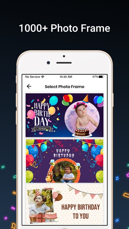Bday Video Maker, Wishes,Cards screenshot-4