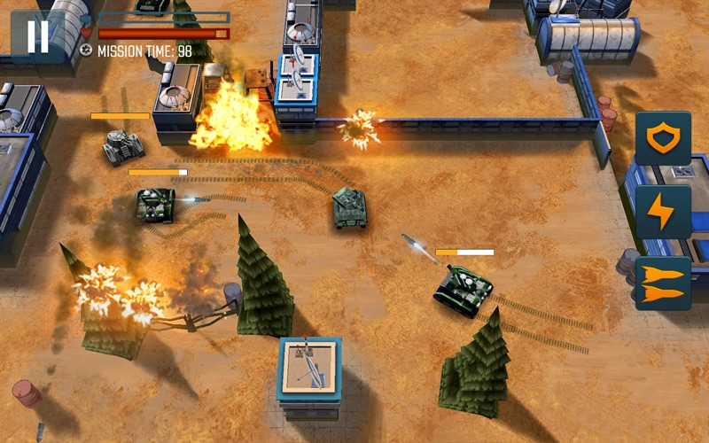 Tank Battle Heroes: PvP Brawls screenshot 1