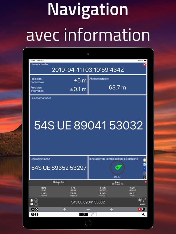 Screenshot #6 pour Coordinates - Formateur GPS