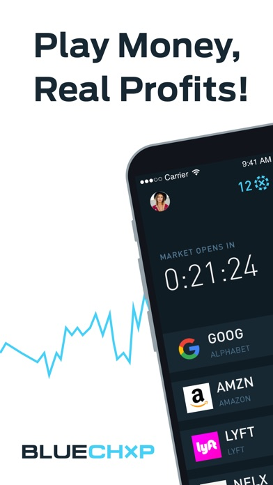 BLUECHXP - Stock Market Game
