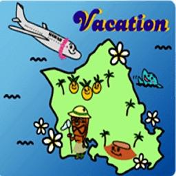 Hawaiian Life Icon Sticker