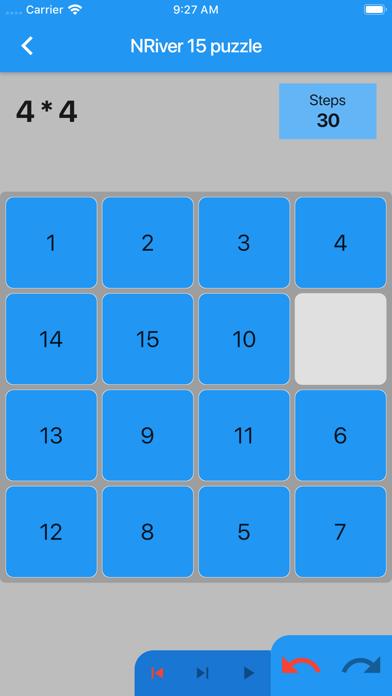NRiver 15 puzzle screenshot 4