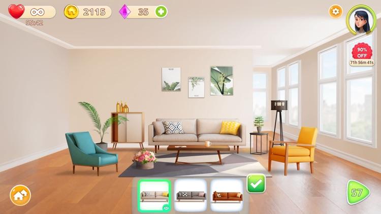 Homecraft - Home Design Game screenshot-4