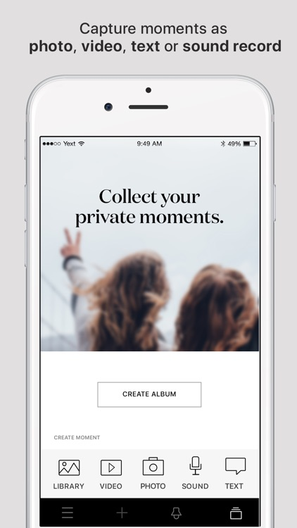 mome - collect moments