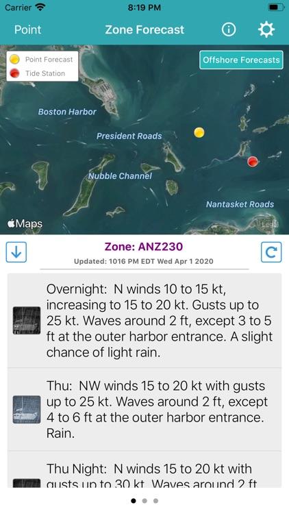 NOAA Marine Forecast & Weather