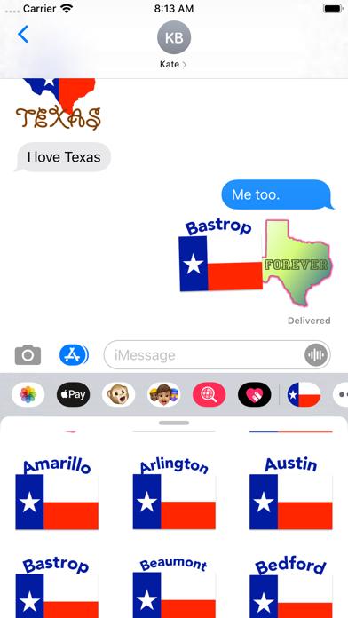 Texas Stickers screenshot 2